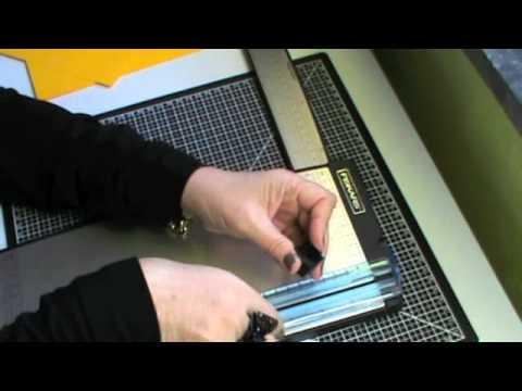Premiers pas en scrap 1 le mat riel de d coupe youtube - Materiel de scrapbooking pas cher ...