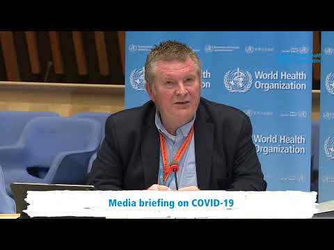Live from WHO Headquarters - COVID-19 daily press briefing 15 April 2020