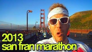 THE 2013 SAN FRANCISCO MARATHON RACE RECAP - GingerRunner.com