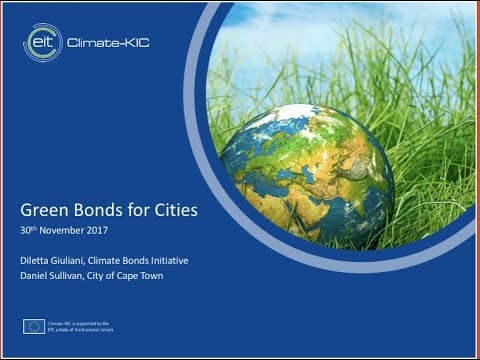 Green Bonds for Cities & City of Cape Town's first green bond