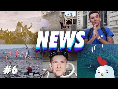 LES NEWS #6 : Le défi de scoot 2 street, Fabio Wibmer, Sam Pilgrim, Red Bull Airborne..