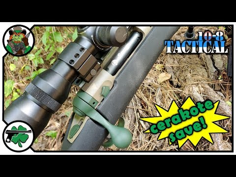 This Is How We Cerakote A Rifle With 10-8 Tactical