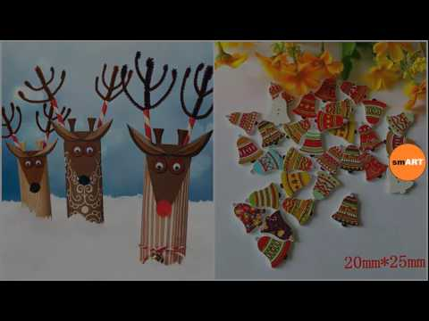 Christmas crafts for kindergarten christmas arts and for Youtube art and craft