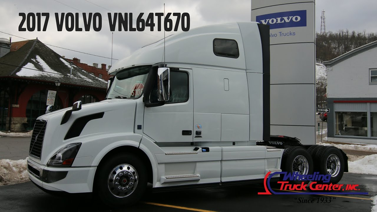 2017 Volvo Vn670 Truck Overview Youtube