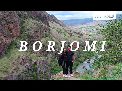 Borjomi & Vardzia: Georgia Travel Vlog // ON TOUR