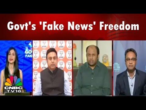 Govt Vs Fake News: PM Modi Overrules Smriti Irani Following Outcry Over Press Freedom
