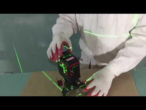 ЛАЗЕРНЫЙ УРОВЕНЬ FUKUDA 3D-LASER GREEN (ЗЕЛЕНЫЙ ЛУЧ).Обзор от Алексея Трегубова.