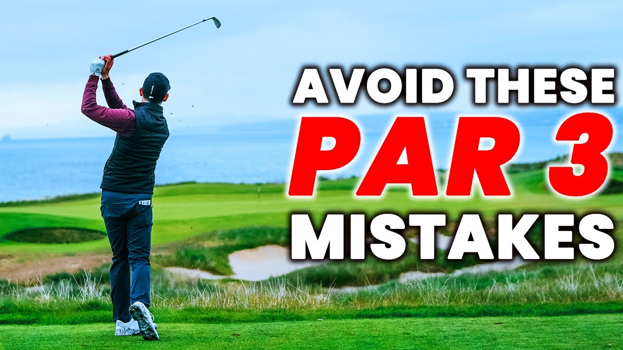 BIGGEST PAR 3 MISTAKES Every Golfer Makes - & How to Avoid them with DANNY MAUDE