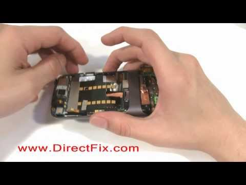 How to: Google Nexus One Screen Reassembly