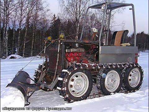 видео: tracteur maison course самоделки