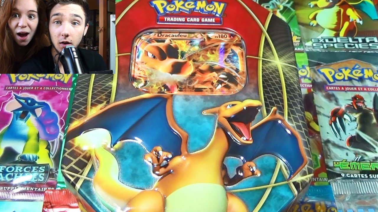 Ouverture d 39 une pok box dracaufeu ex fran aise mega pokemon pioche youtube - Image de mega dracaufeu ...