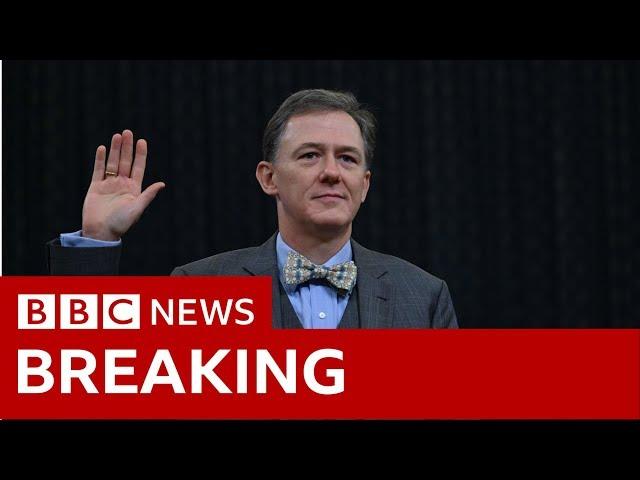 Trump impeachment inquiry: George Kent opening statement In Full- BBC News