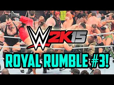 WWE 2K15 (PS4) FULL 30-Man Royal Rumble Challenge Part 3! (w/FaceCam)