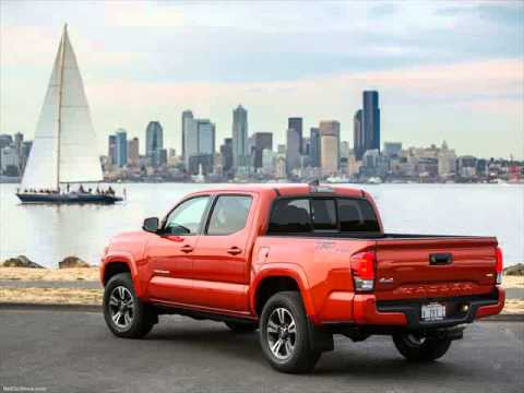 2016 Toyota Tacoma 4x4 V6 Gas Mileage YOUTUBE