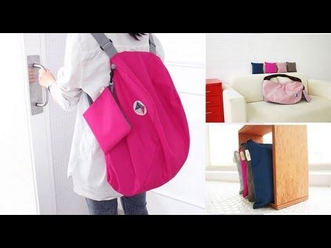 9e26b8db7941 Moredeal.my - Korean 3-Way Folding Bag - YouTube