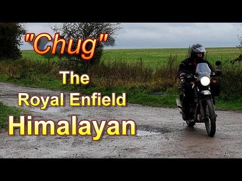 """Meet """"Chug""""  My First Day With The Royal Enfield Himalayan"""