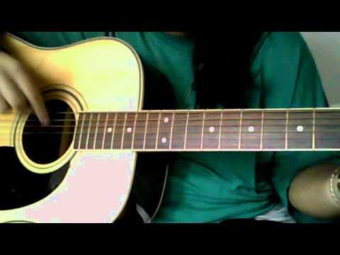 Colbie Calliat- Bubbly- guitar tutorial- easy