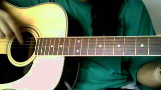 Colbie Calliat- Bubbly- guitar tutorial- easy