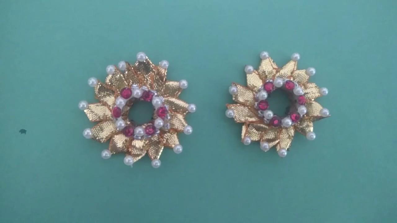 59fc51bee Gota Patti jewellery/brides mehendi special jewellery - YouTube