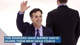 New York Rangers Name David Quinn as Head Coach | MSG Networks
