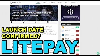 When does LitePay launch? Where will LitePay be accepted?