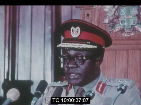 Gen. Acheampong Opens The 45th INTERPOL General Assembly | 1st In Africa |  Oct. 1976 - YouTube