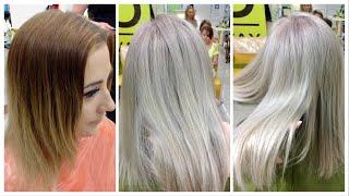 Пепельный блондин. Видео с семинара // ASH BLONDE hair color