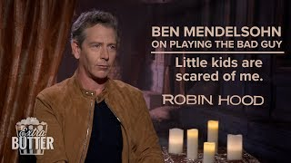 Ben Mendelsohn on playing the bad guy | Robin Hood Interview | Extra Butter
