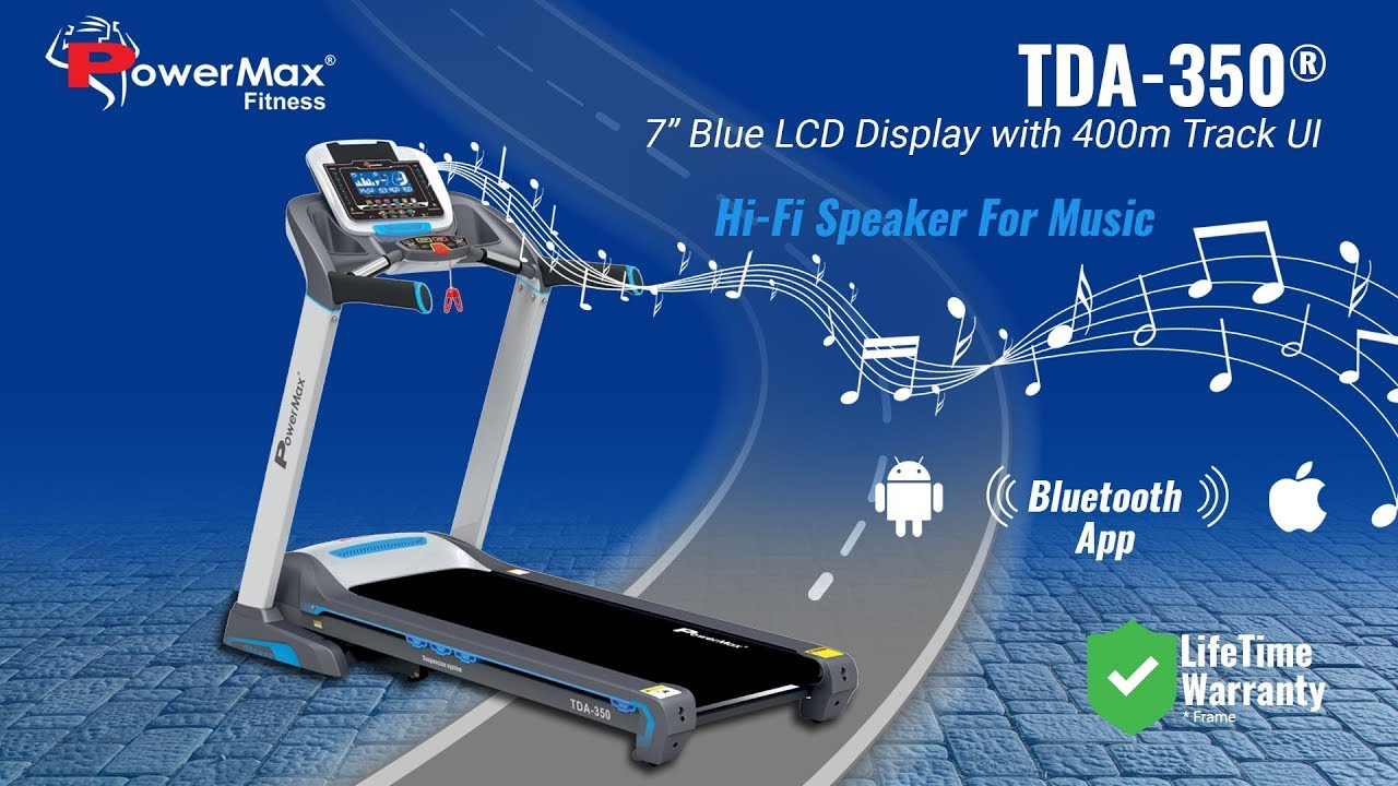 TDA 350 Motorized Treadmill from Reliable Dealer