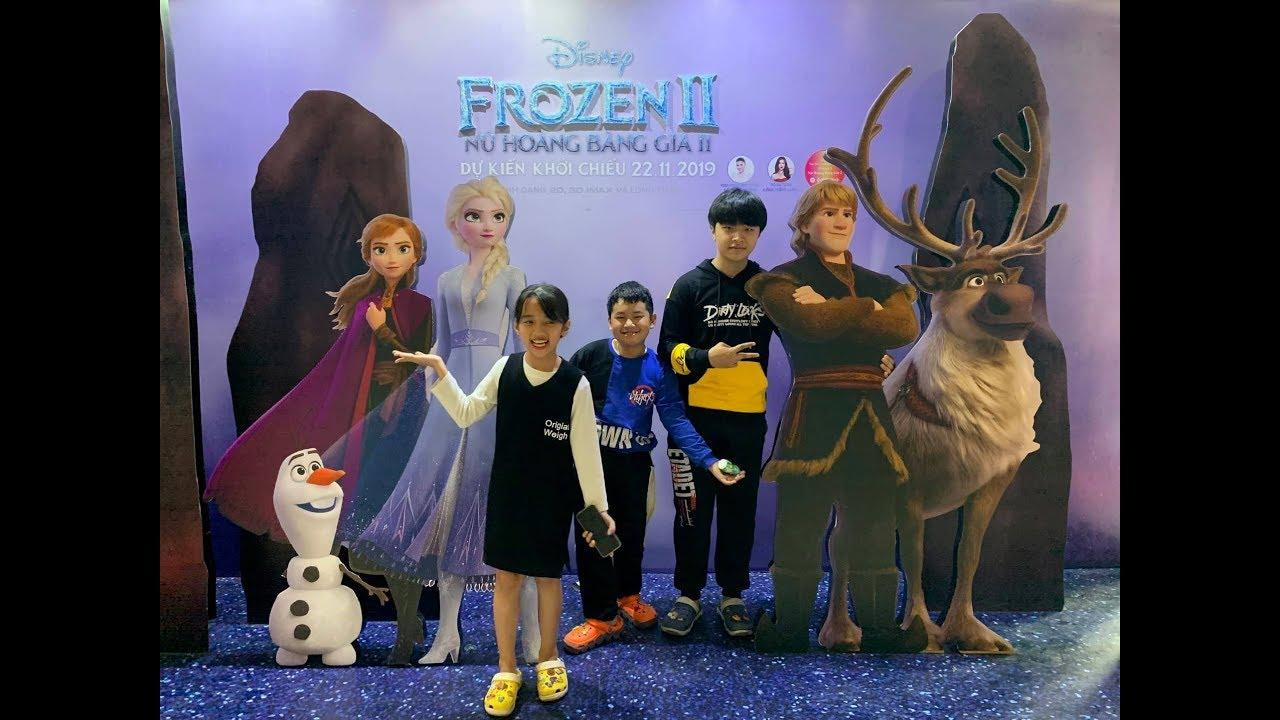 Đi Xem Phim Frozen 2 - Nữ Hoàng Băng Giá Elsa - Ăn Bắp Rang, Xúc Xích, Pizza, Uống Pepsi - MN Toys