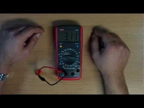 Review Uni-T UT603 LCR Meter