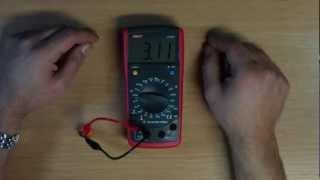 Review Uni-T UT603 LCR Meter