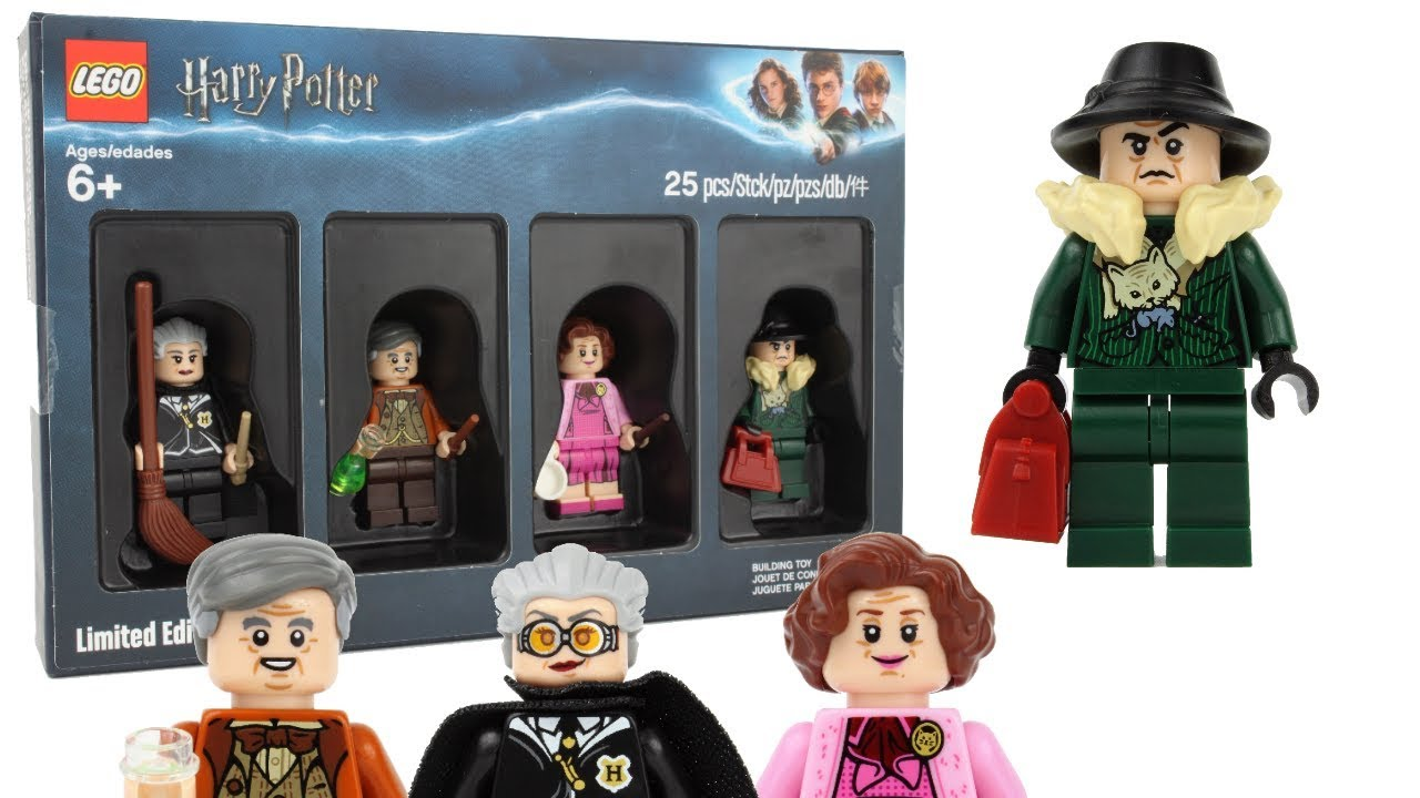2018 Lego Harry Potter Bricktober Minifigure Collection Review Youtube