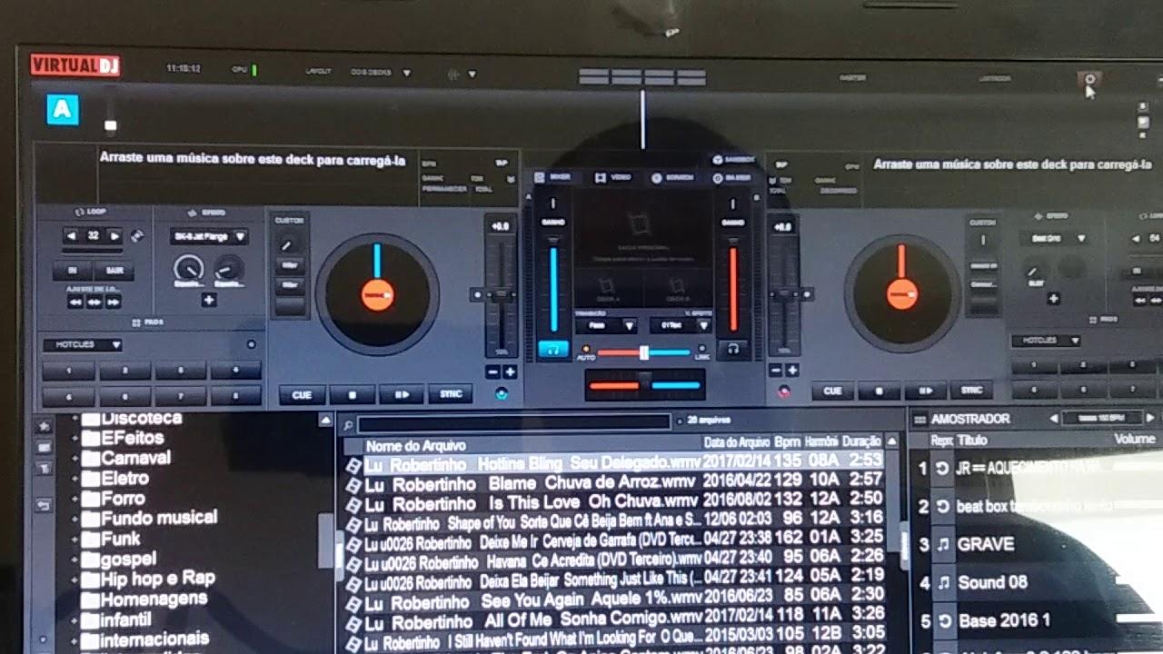 Como usar Xponent M Audio no Virtual DJ
