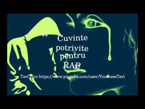 Tavi Zico-Cuvinte potrivite pentru RAP