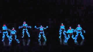 Dança com luzes