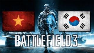 Phim Hoat Hinh | Battlefield 3 Multiplayer 2 Việt Nam vs Hàn Xẻng | Battlefield 3 Multiplayer 2 Viet Nam vs Han Xeng