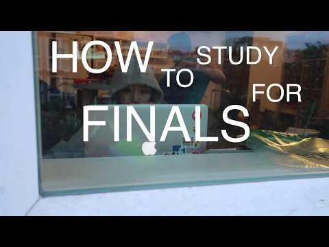 How to study for finals | University of Washington Computer Science | He strip danced for me