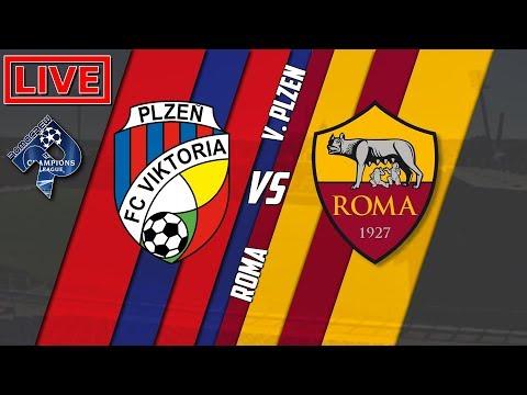 Viktoria Plzen - Roma | Diretta LIVE (Champions League) 2018/2019