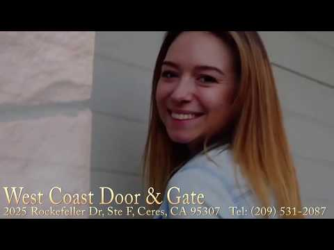 West Coast Door & Gate 2025 Rockefeller Dr Ceres, CA 95307 209-531-2087
