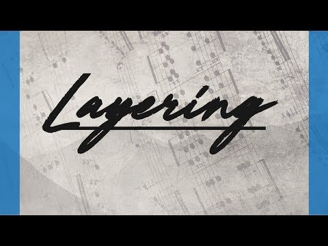 How to make layering with Sketching Strings