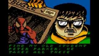 Spider-Man 2 - The Sinister Six Intro Game Boy Color