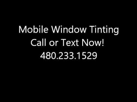 window tinting gilbert az window tinting gilbert az 4802331529 youtube