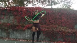 """Unsteady"" Hoop Dance"