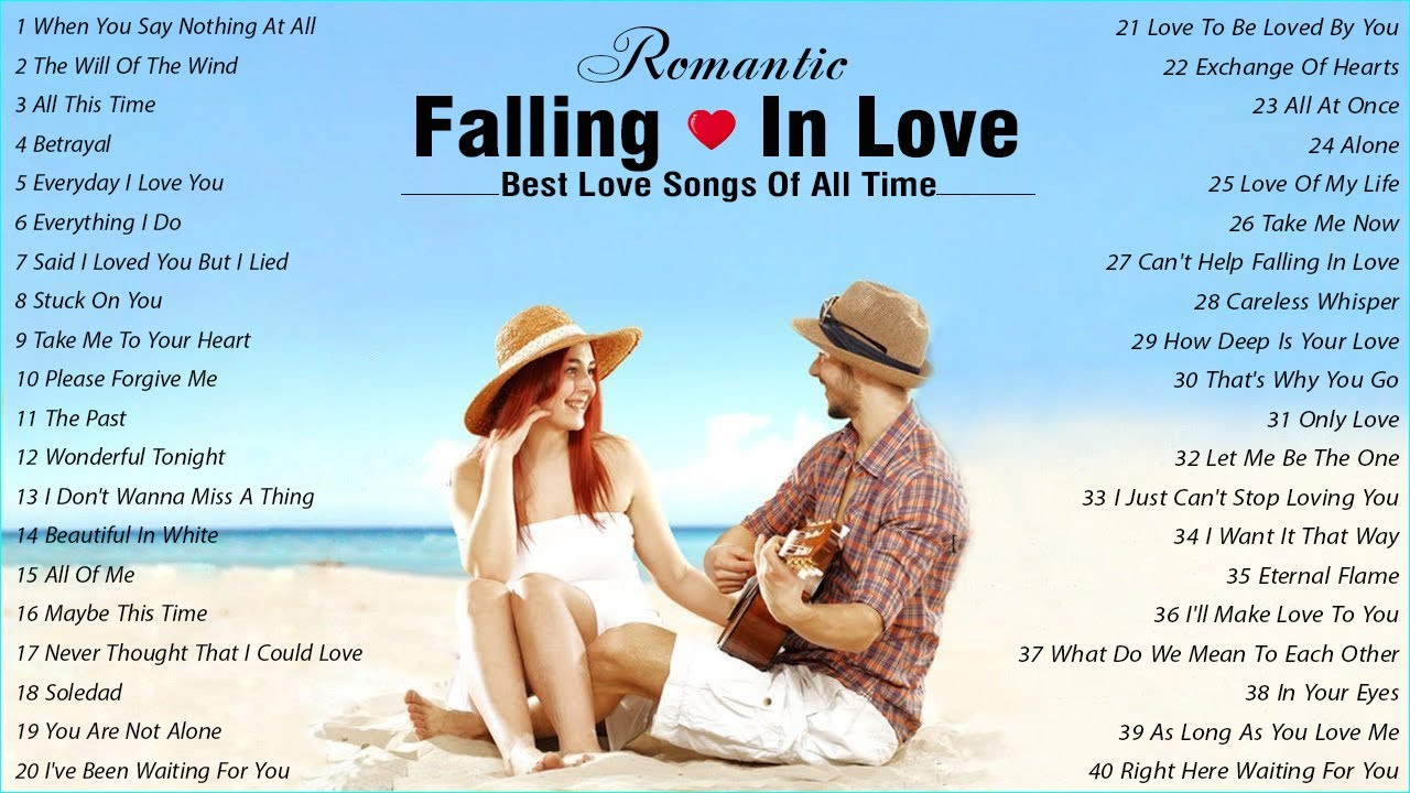 Best Love Songs Of All Time 💞 Most Old Beautiful Love Songs of 80's 90's 💞 English Love Songs