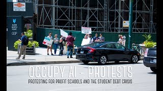 Occupy Ai - July 2018 Student Debt & For Profit Schools Protest
