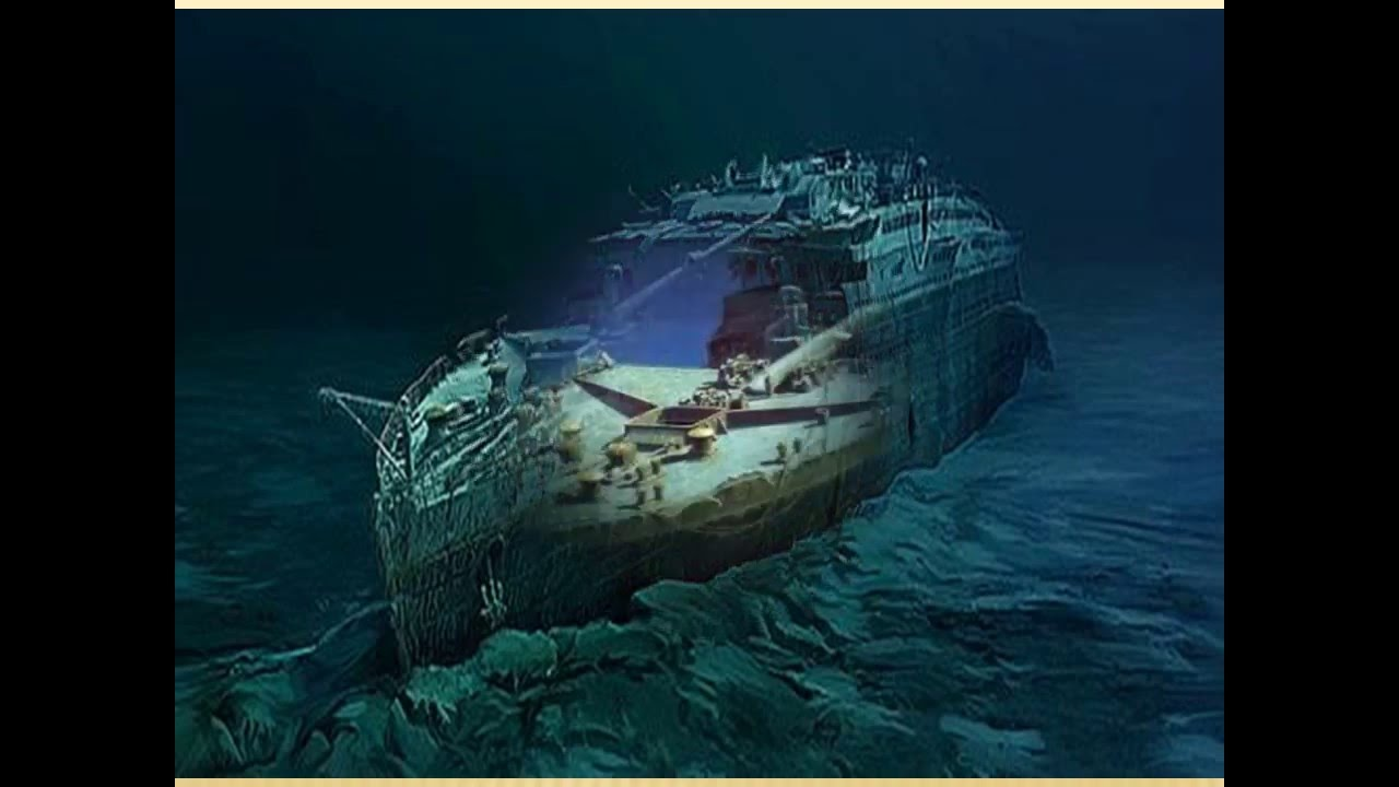 The Rms Titanic Wreckage Sank On 15 April 1912 Exploring