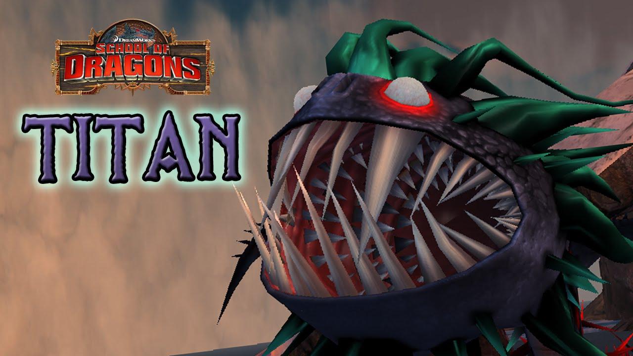 TITAN Whispering Death - School of Dragons - YouTube