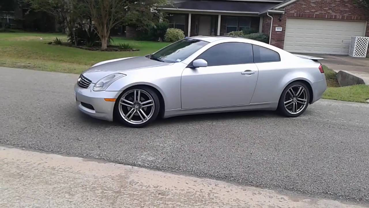 2003 Infiniti G35 Coupe >> For Sale 2003 Infiniti G35 Coupe 5 800 Youtube