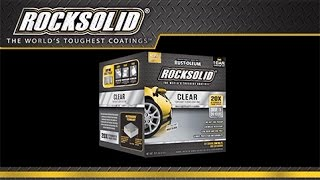 How to Video: How To Apply Rocksolid® Clear Top Coat Floor Coating - Home Depot
